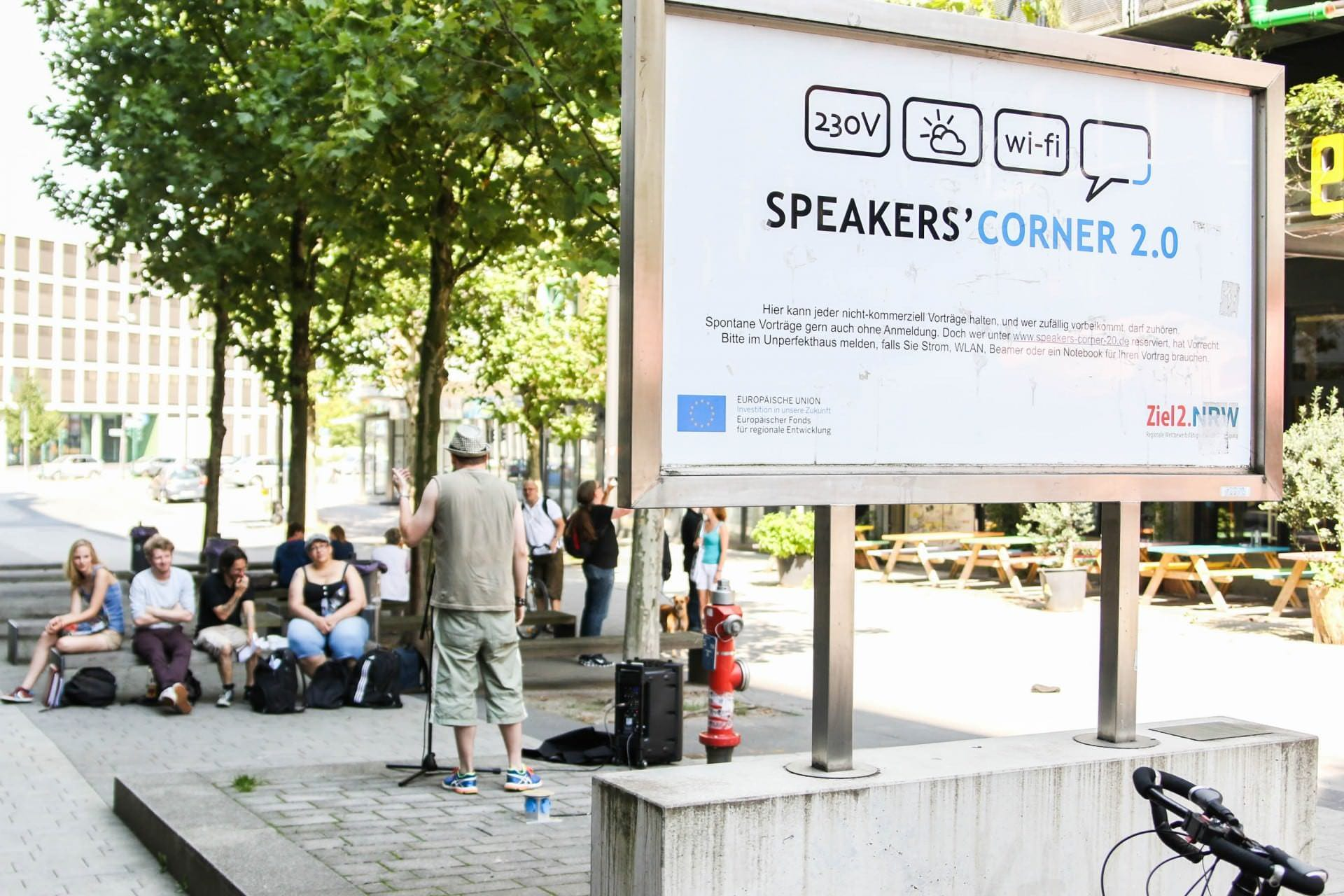 Speaker's Corner Raid in Essen