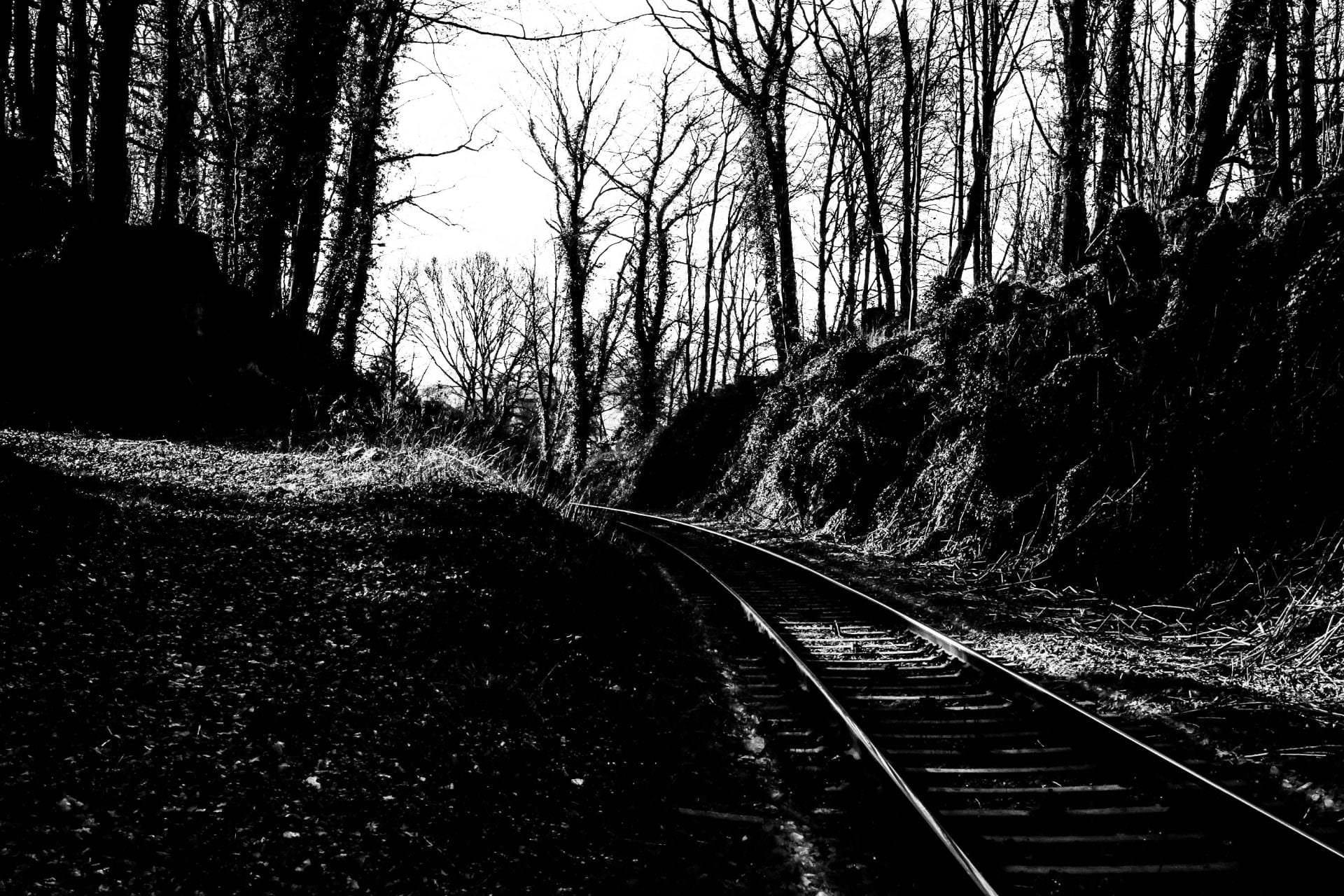 Strecke Flandersbach nach Abzweig Tiefenbroich