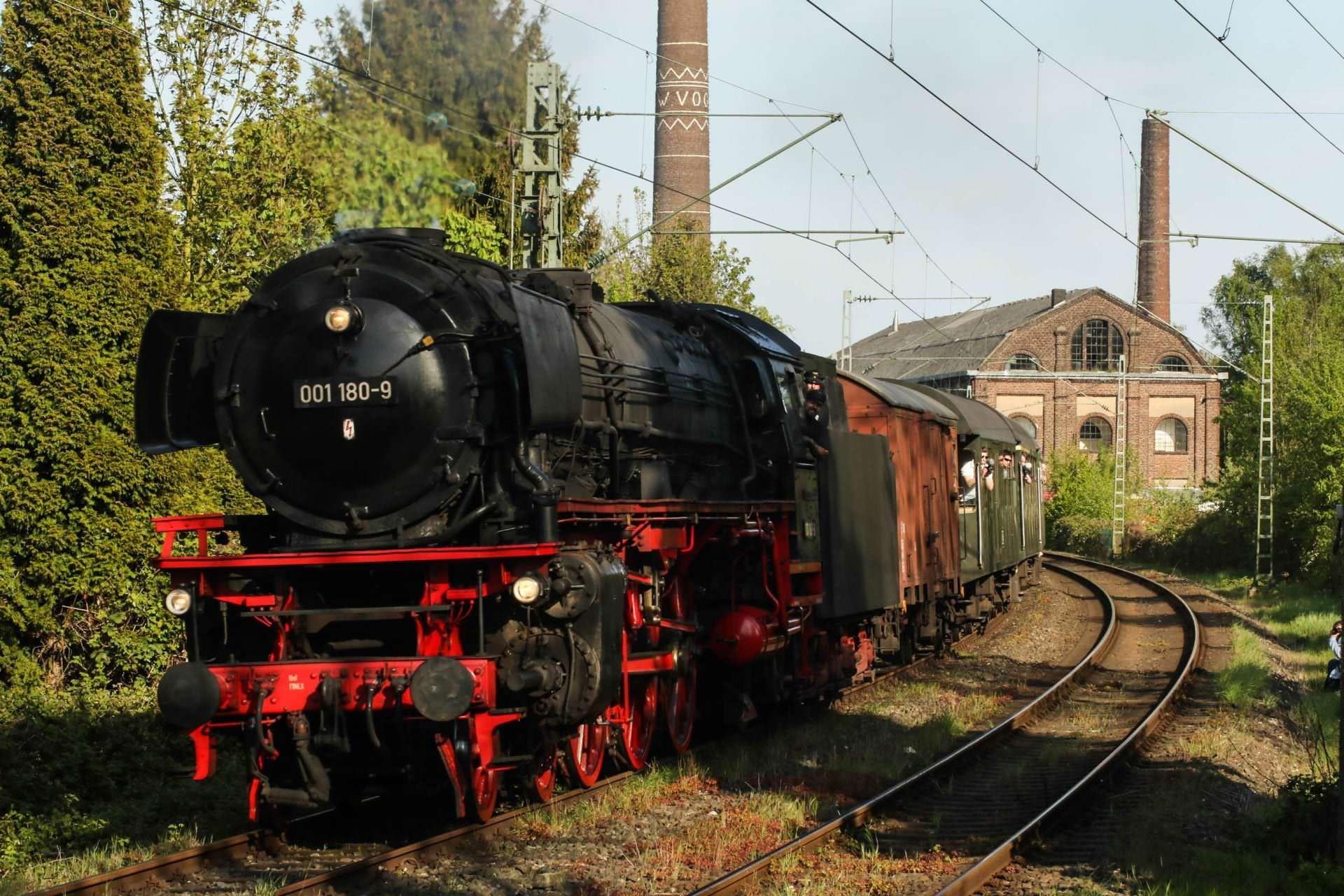 001 180 war das nächste Zugpferd am Pendel